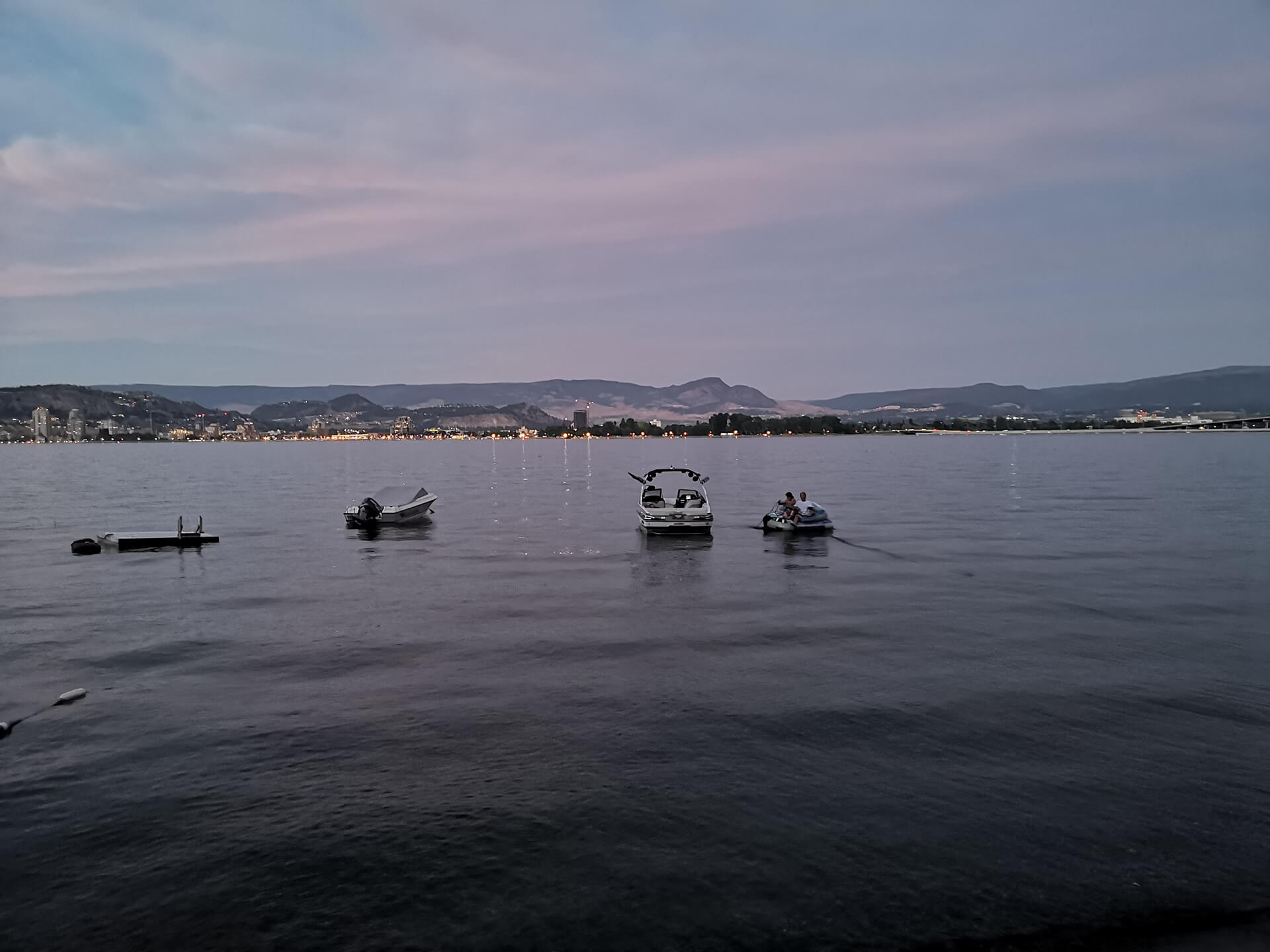 Buying Your First Home In Kelowna - Boats On The Lake